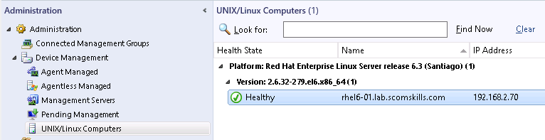 Install SCOM Agent on Red Hat Enterprise Linux 6 (linux agent